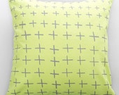 Crosses print Cushion Cover