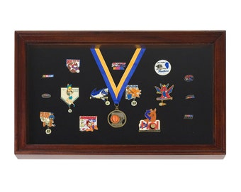 Display Case / Shadowbox for Pins, Medals, Badges