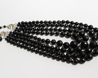 Black Vintage Necklace