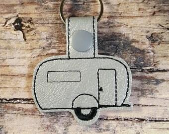 Camper Key Chain Camper Key Fob Camper Zipper Pull