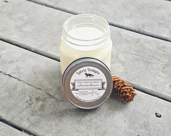 Tannenbaum Soy Candle | Pine Tree, Christmas, Winter, Hand Poured, Vegan, Stocking Stuffer, Gifts for Her, Housewarming Gift, Hostess Gift