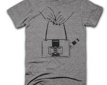 Hot Sauce In My Bag T-Shirt - Funny Shirts - Unisex Triblend Shirt - Hip Hop T-shirt - Rap Lyric shirt