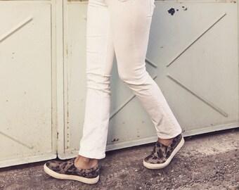 MALKIA LEOPARD, Vegan Shoes, Non Leather