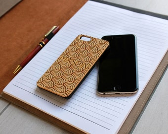 Personalized Iphone 6 case, Custom Iphone 6 case, Wood Iphone 6 case, Laser Engraved Iphone 6 case, Bamboo --IP6-BAM-MASON ip6w