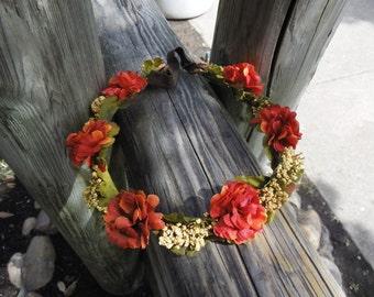 Forest Flower Crown.