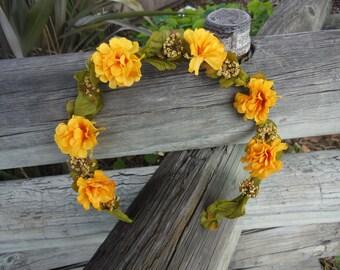 Nature Flower Headband
