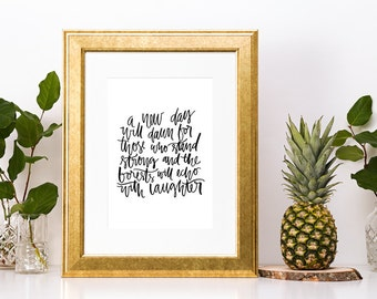 Led Zeppelin Lyrics Print