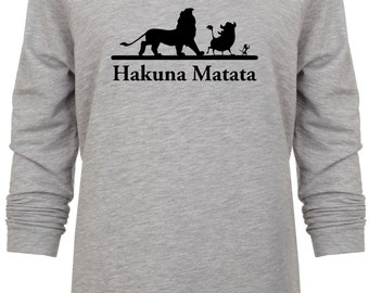 Disney Lion King Inspired Hakuna Matata Vacation sweatshirt