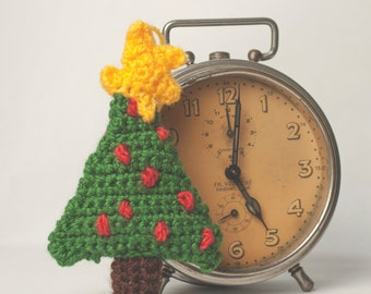 Crochet PATTENR handmade christmas tree decoration PATTERN tutorial pdf and video tutorial, season decoration, christmas, beginner, pdf