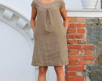Boho linen dress - Etsy