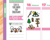 Munchkins - Camping Planner Stickers (M73)