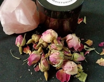 Rose Quartz & Rose Face Moisturiser