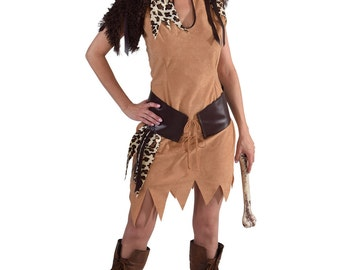 Neanderthal Cave Girl Costume  , sizes 6 -22