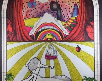 Rapid Transit Poster/ Psychedelic Poster