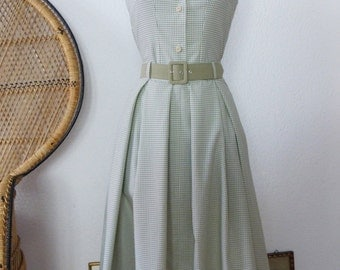 "50s Set ""Nizza"" with vichy blouse"