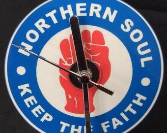 NORTHERN SOUL CD Clock