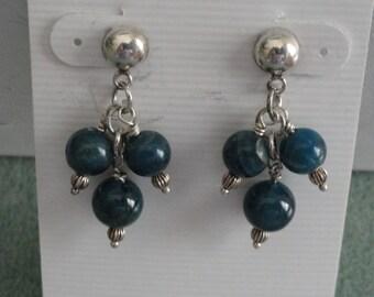 African Apatite Earrings  -  #267