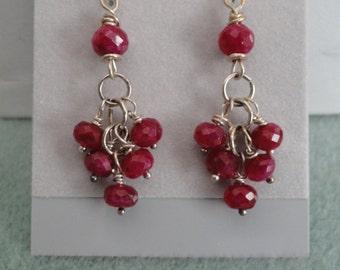 Ruby Earrings   -  #397