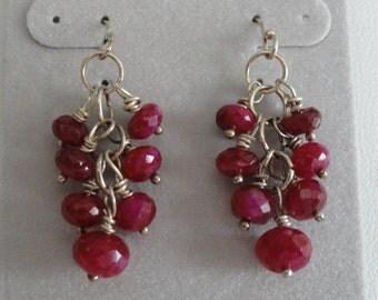 Ruby Earrings   -   #400