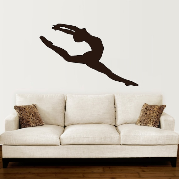ballerina wall decal vinyl sticker decals ballet dancing