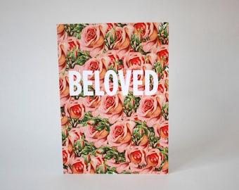 Greeting card : Beloved.