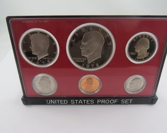 U.S. 1978S United States Proof Set.There is no C.O.A. in this set. This is a 6 coin Proof set.