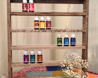 Essential Oils Wall Shelf (70 bottles - 15ml's)
