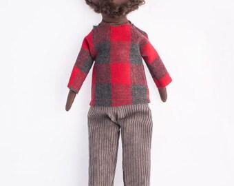 Rag Doll Modern Cloth   Samuel