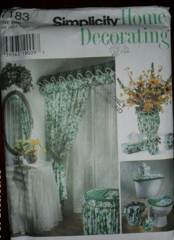 Https Www Etsy Com Listing 249945358 Simplicity Home Decorating Bathroom
