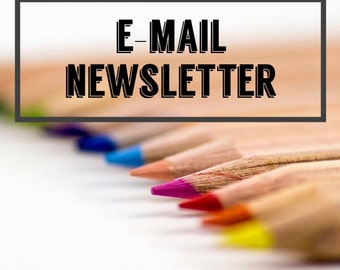 Custom E-mail Newsletter -- Online Shop Newsletter -- Email newsletters - Seller Newsletter -- Shop E-mail