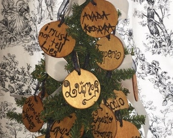 10 Harry Potter Ornaments YOUR CHOICE