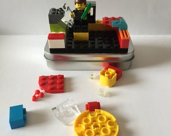 LEGO Brick On-the-Go Travel Play Set - FREE SHIPPING! Kid travel, party favor, wedding kid table activity!