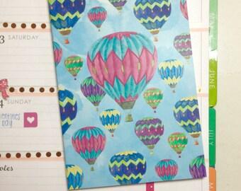 Hot Air Balloon Mini Notebook