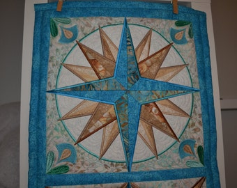 Mariner's Compass Table Runner