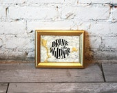 Drink the Wild Air (Framed Print)