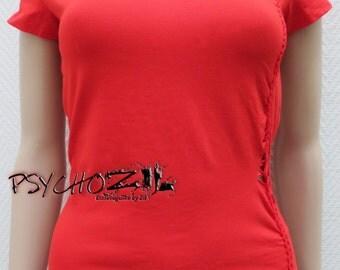 T-shirt sleeve short mode Ruby