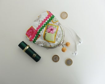 Purse for coins, headphones and small things