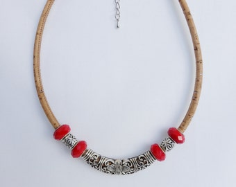 50%OFF Use Code: 50OFF - Cork Necklace