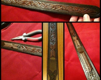 Genuine leather kangaroo leather braiding