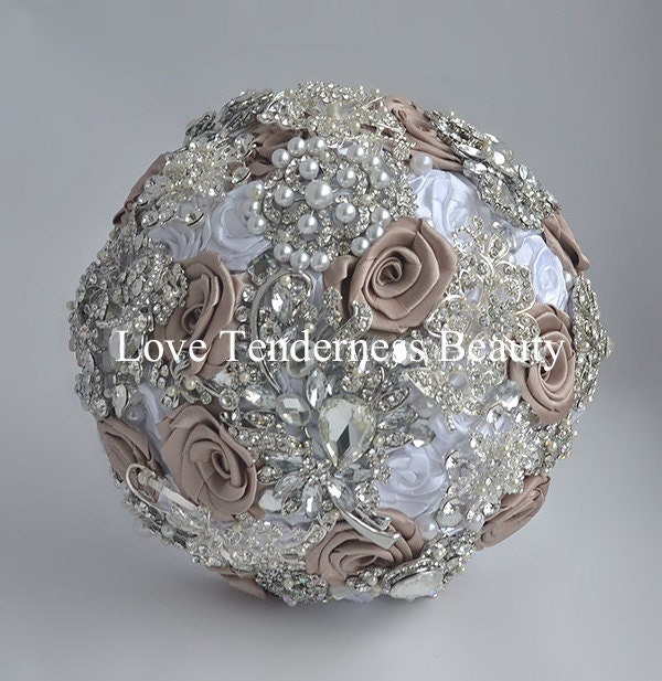 brooch wedding bouquets for sale wedding brooch bouquet fabric bouquet quinceanera 2085