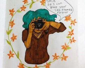 Lies Framed Forever