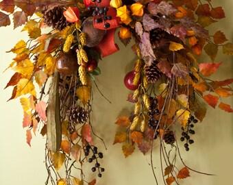 Fall wreath large