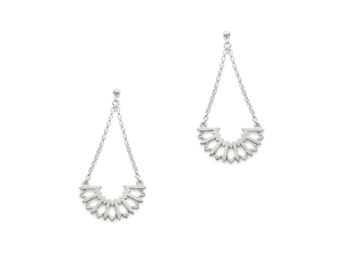 Acanth earrings - Sterling silver earrings