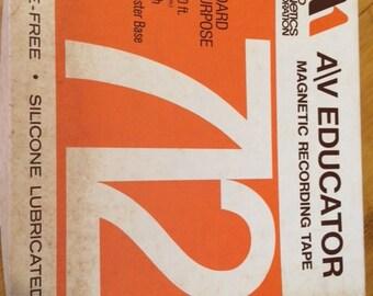 A/V Educator Magnetic Recording Tape 712