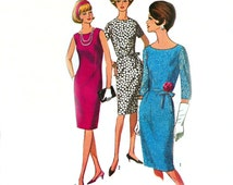 Simplicity 5939 | Vintage Sewing Pattern 1965 | One Piece Dress | Size 14.5, Bust 35