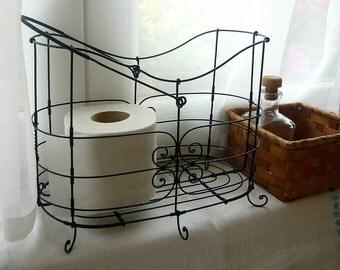 Toilet Paper Basket Etsy