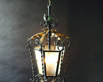 Wrought Iron French lantern