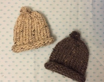 Thick Knit Baby Beanie Hat