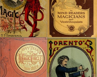 70 Rare Old eBooks on Magic, Tricks, Illusions & Conjuring History on one CD