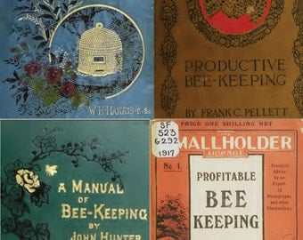 100 Rare Old eBooks On Bee Keeping, Bees, Honey, Hive, Wax, Recipes, Suit Swarm Tips on one DVD